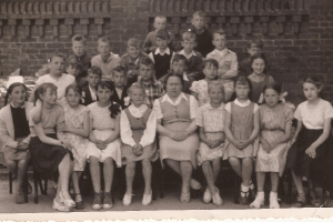 Zdjęcie klasowe  lata 50.